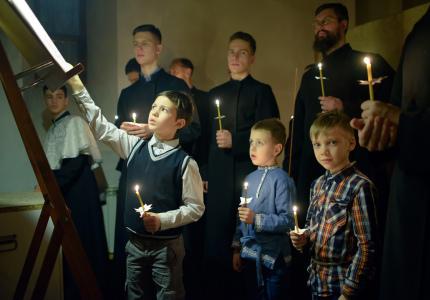 5 декабря 2019. Вечерняя служба на праздник св. Александра Невского