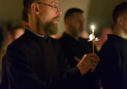 5 декабря 2019 - вечерняя служба на праздник св. Александра Невского